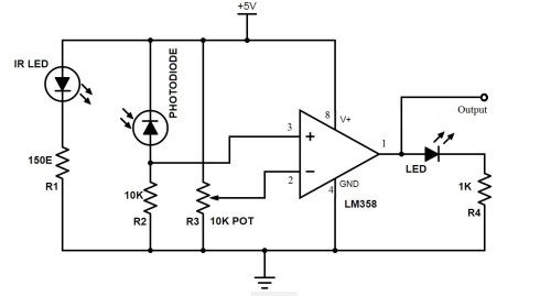 small resolution of ir sensor circuit