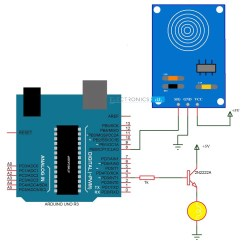 Light Sensitive Switch Circuit Diagram Two Wiring Touch Dimmer Using Arduino