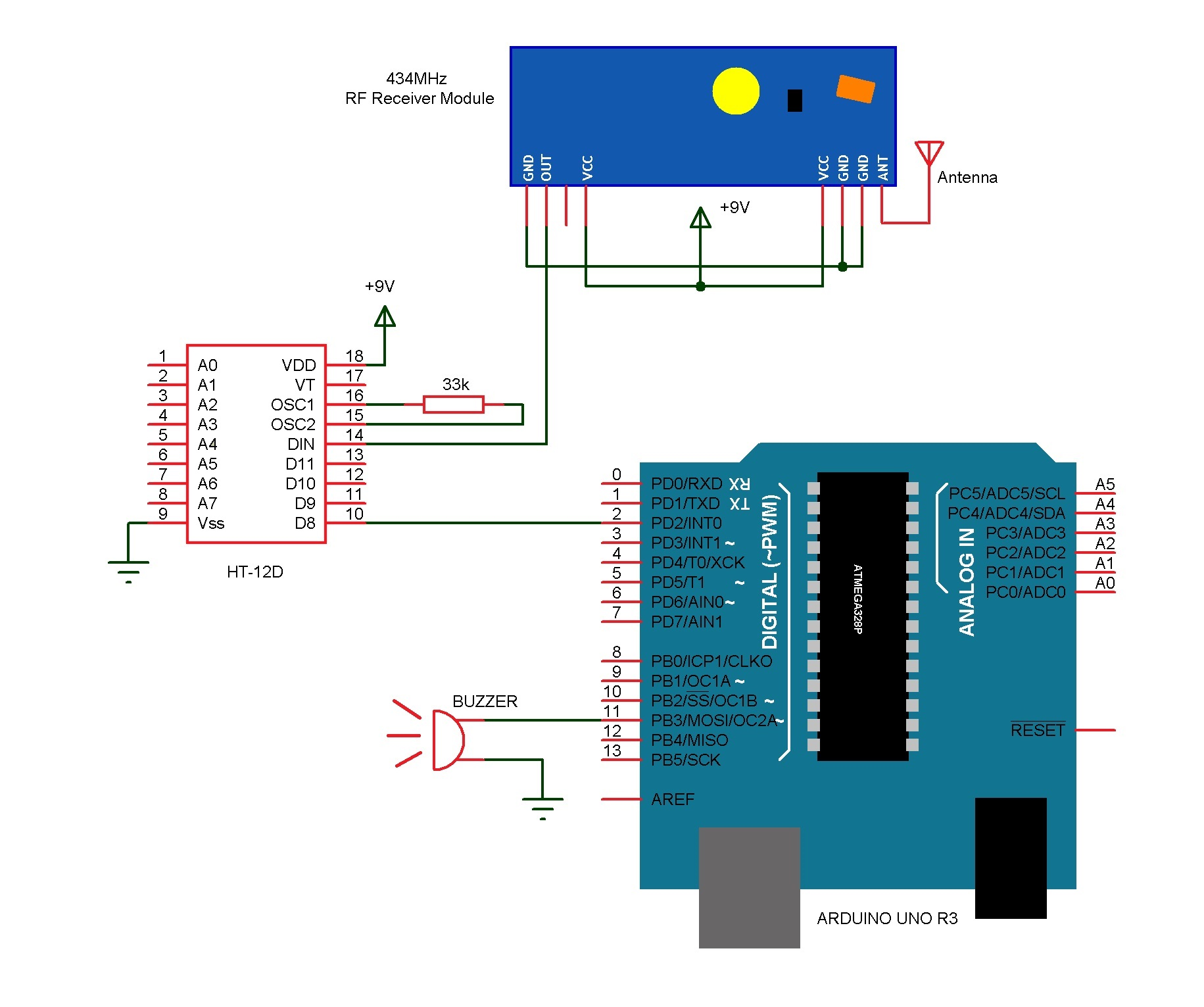 simple doorbell circuit diagram pac sni 15 wireless
