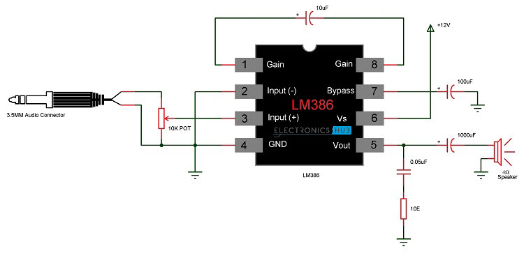 Speech Amplifier Circuit Electronic Circuits And Diagram