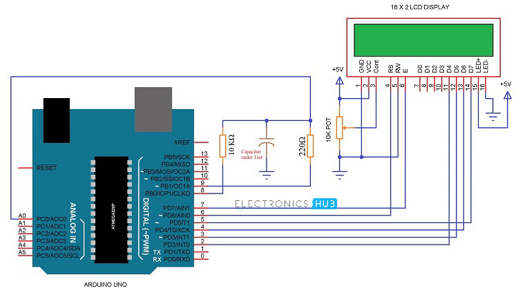 Capacitor Tester Circuit Diagram Tradeoficcom