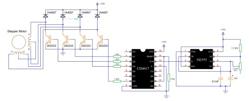 small resolution of stepper motor driver circuit stepper motor control circuit stepper motor control circuit diagram