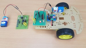 RF Controlled Robot without Microcontroller