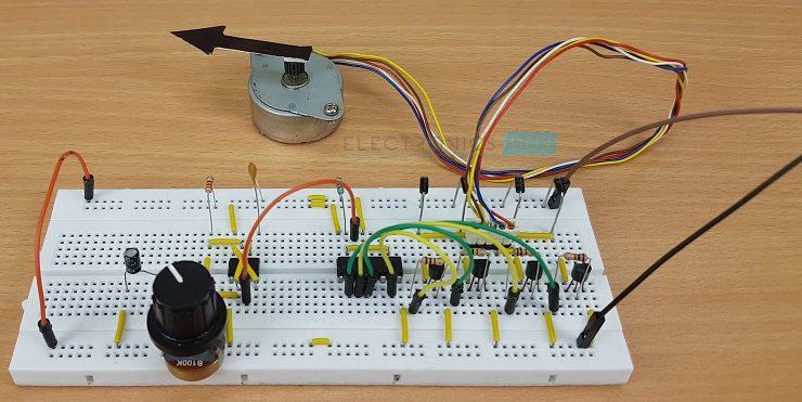 Schematicscom Light Detector Using 555 Timer