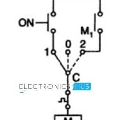 Star Delta Wiring Diagram Control Leviton L14 30 Starter For 3 Phase Motor Manual Circuit