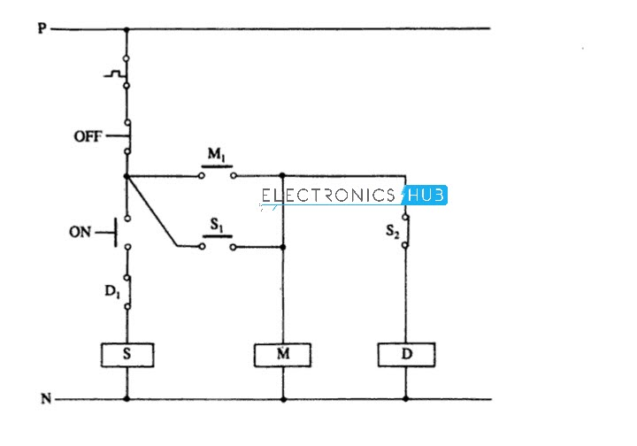 Fully Automatic Star Delta Starter Circuit Diagram