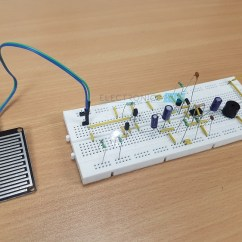 Electronics Mini Projects With Circuit Diagram Dodge Neon Motor Mount Rain Alarm Project | Water Detector Applications