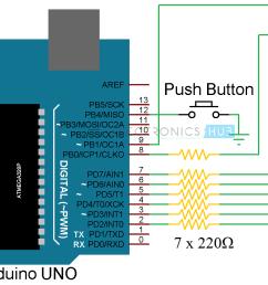 7 segment display wiring diagram [ 1508 x 858 Pixel ]