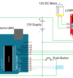 arduino dc motor control using l298n circuit diagram [ 2296 x 1328 Pixel ]