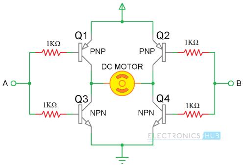 small resolution of l298 h bridge circuit diagram wiring diagram forward arduino dc motor control using l298n motor driver
