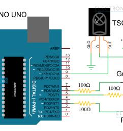 arduino ir receiver circuit diagram [ 1531 x 931 Pixel ]