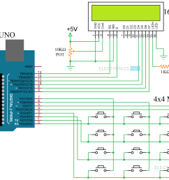 arduino keypad tutorial how to interface 4x4 keypad with arduino circuit diagram arduino keypad image 5 [ 2328 x 1508 Pixel ]