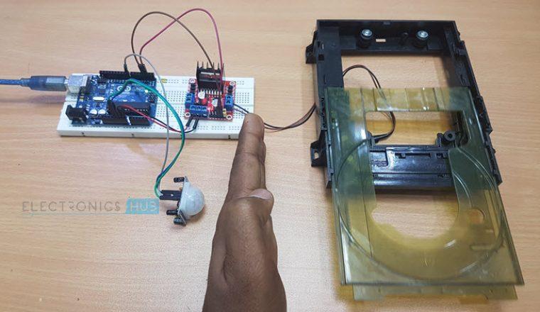 Door Open Alarm Circuit Diagram Tradeoficcom