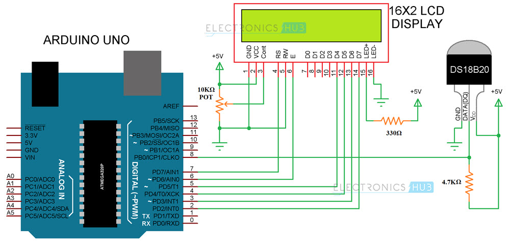Thermocouple Transmitter Circuit Schematic Diagram