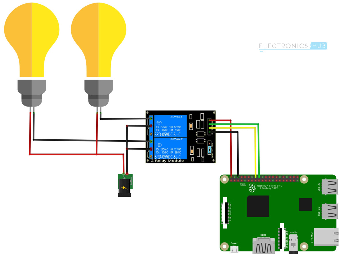 hight resolution of how to control a relay using raspberry pi circuit diagram