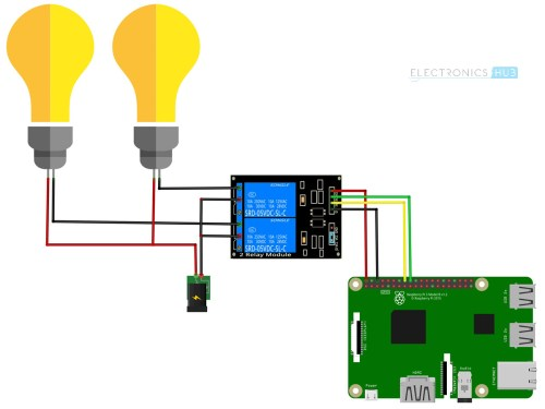 small resolution of how to control a relay using raspberry pi circuit diagram