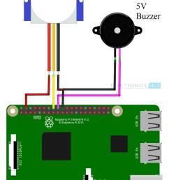 pir motion sensor using raspberry pi circuit diagram [ 750 x 1076 Pixel ]