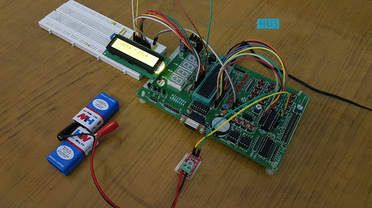 We Can Also Make A Low Battery Indicator Circuit Using A 741 Ic And A