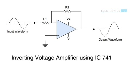 small resolution of ic 741 op amp basics characteristics pin configuration applications 741 op amp wiring diagram