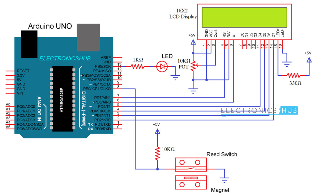 Reed Switch Circuit Details