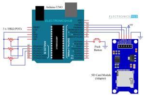 Arduino SD Card Module Interface  Hookup Guide and Data Logging  Hookup Guide and Data Logging