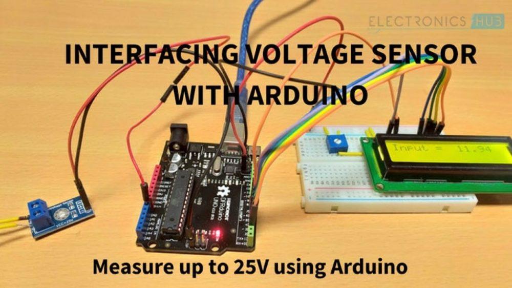 medium resolution of interfacing voltage sensor with arduino measure up to 25v using arduino