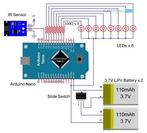 small resolution of pov display using arduino diy propeller rotating led display diy led propeller clock schematic