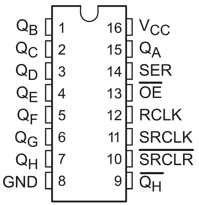 How to Interface 74HC595 Shift Register with Arduino?