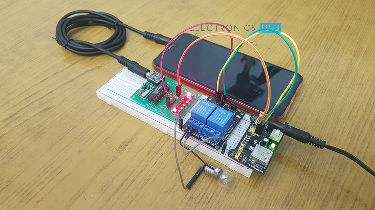 Dtmf Cell Phone Controlled Home Appliances Engineering Automation
