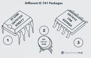 IC 741 Op Amp Basics, Characteristics, Pin Configuration
