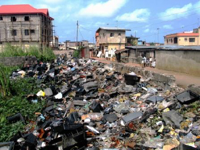 Image result for pictures of third world garbage pit burning