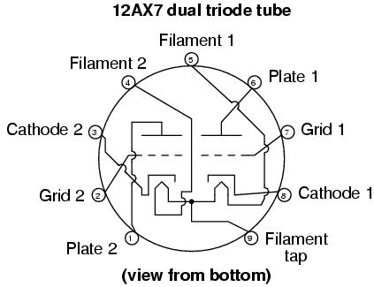 Vacuum tube audio amplifier,