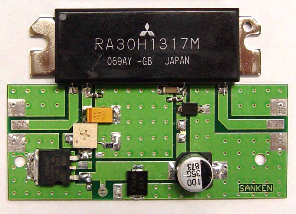Uhf Tv Linear Amplifier 5 W By Blw98