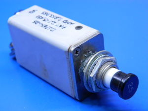 Terminal Fuse Box Klixon D6761 1 25 Circuit Breaker Aircraft 25adc