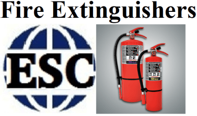 Click for ESC Fire Extinguisher Department (image)
