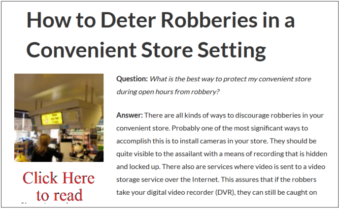 How to deter robberies (image)