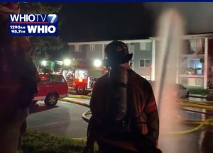 Fire causes significant damage to Kettering apartment building   (Image)