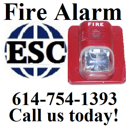 ESC provides fire alarm installation and service. (image)