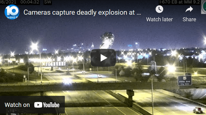 Cameras capture deadly explosion at Columbus paint plant (image)