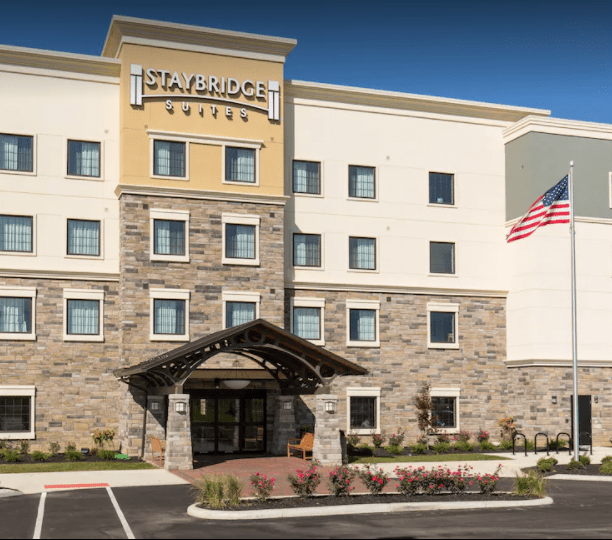Mulch fire spreads to Polaris hotel, damages room (Google Maps, image)