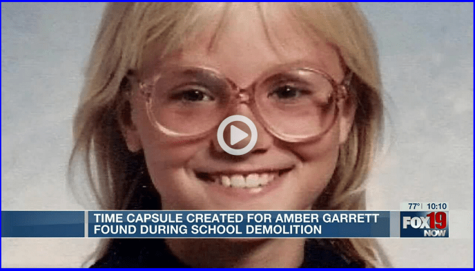 Time capsule buried for slain Ohio girl discovered during school demolition Loved ones had been searching for the capsule ahead of the building being torn down. (image)