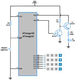 circuit diagram atmega16 ir serial transmitter [ 1000 x 1044 Pixel ]