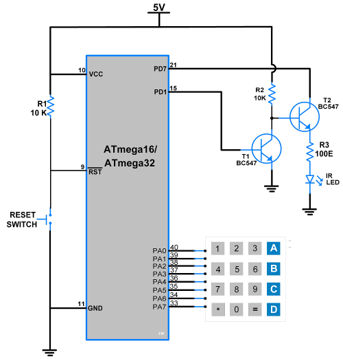 small resolution of circuit diagram atmega16 ir serial transmitter