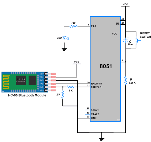 small resolution of interfacing bluetooth with 8051