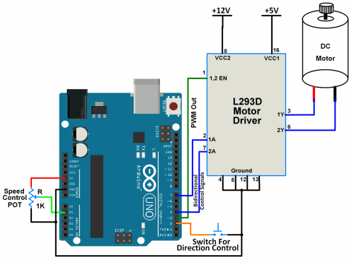 small resolution of arduino dc motor interfacing with arduino uno arduino arduino dc motor wiring diagram