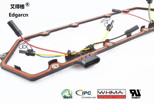small resolution of 615 202 auto wiring harness kit diesel engine wire harness pa66 material