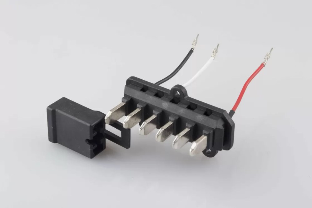 medium resolution of 203 301mm plastic injection parts battery injection plug to 3 pin molex micro con