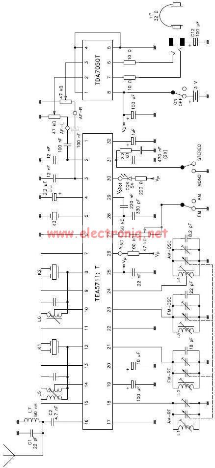 electronics and circuit