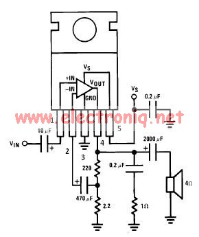 Lm380N 8 Schematic – The Wiring Diagram