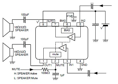 Circuit 300x156 Basically Amplifier Circuits Diagram Ipod
